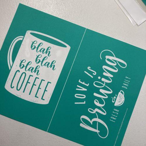 Fresh Coffee Daily: Creative Kit Pre Order